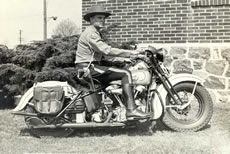 1940 Motorcycle Officer