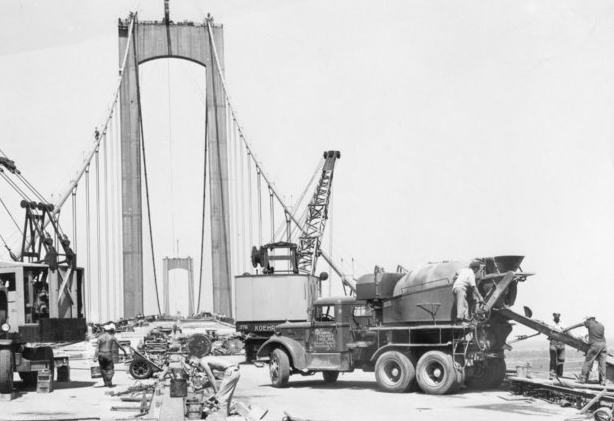 Delaware Memorial Bridge Construction