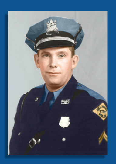 Delaware State Police Fallen Hero Trooper James D. Orvis